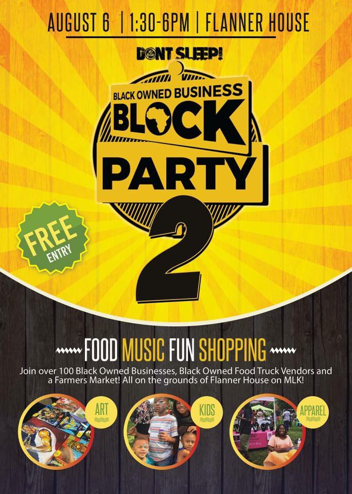 Black Owned Business Block Party Indianapolis